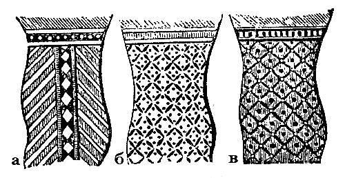 Узоры на одежде египтян