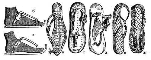 Обувь египтян