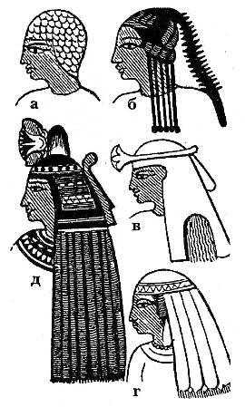 Головные уборы женщин в Египте