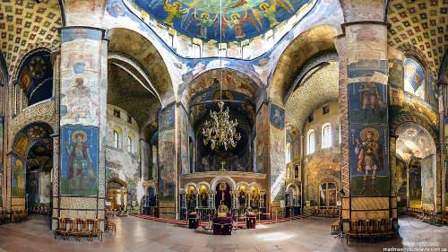 Кирилловская церковь роспись храма