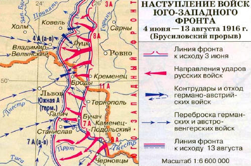 Наступление войск Юго-Западного фронта (Брусиловский прорыв)