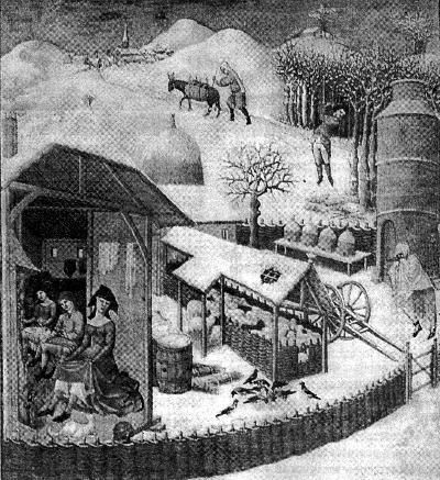 Французская миниатюра начала XV века